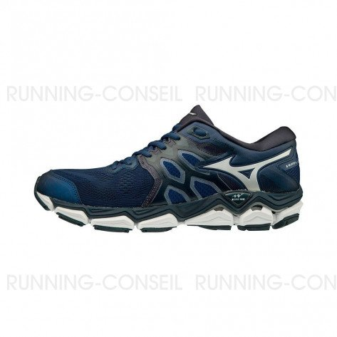 MIZUNO WAVE HORIZON 3 Homme | Estate Blue / Silver / Campanula