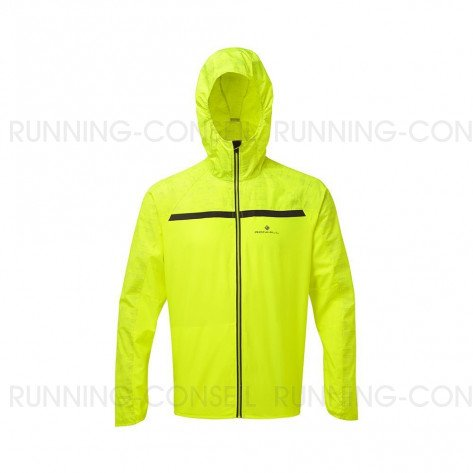 RONHILL Veste Momentum Afterlight Homme   Fluo yellow Reflect