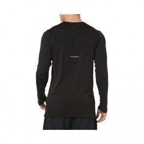 ASICS Tee-Shirt manches longues sans coutures homme | Black