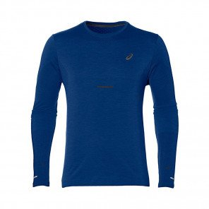 ASICS Tee-Shirt manches longues sans coutures homme   Mako blue
