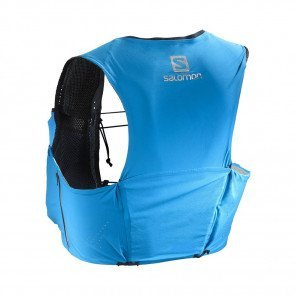 SALOMON - Sac / Gillet SENSE ULTRA 5 SET - transcend blue / black