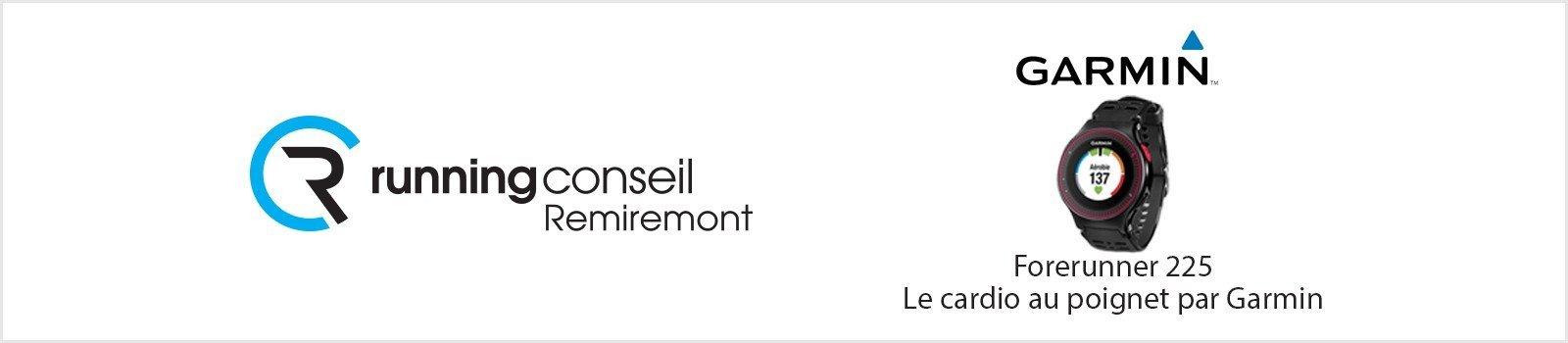 Réservez/Achetez votre Garmin Forerunner 225 chez Running Conseil Remiremont